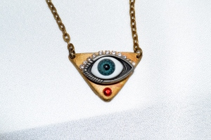 Warding off the evil eye...